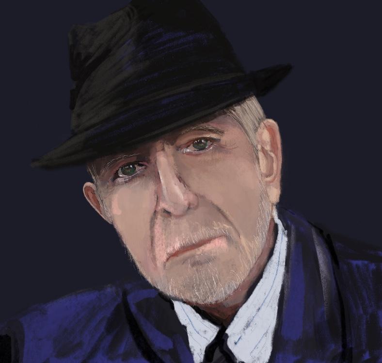 Portrait-Leonard-Cohen